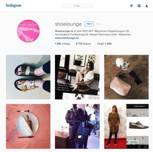 Eksempel på markedsføring på Instagram