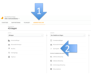 Finn Google Analytics sporingskode