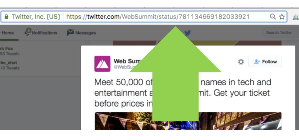 Her er lenken til en tweet